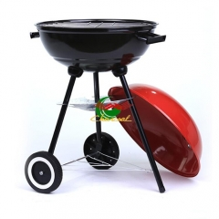 Camping picnic easy moving 18inch outdoor charcoal bbq grill